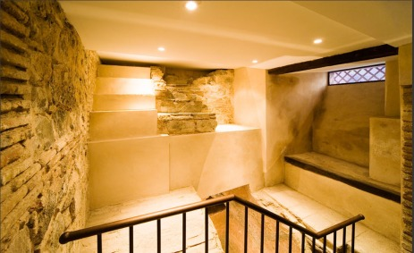 Parte del sótano después de la intervención. Imagen cedida por el Consorcio de la Ciudad de Toledo.